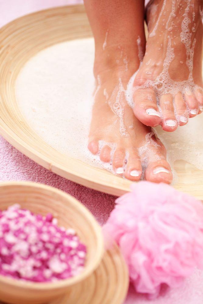 détoxination ionique par les pieds